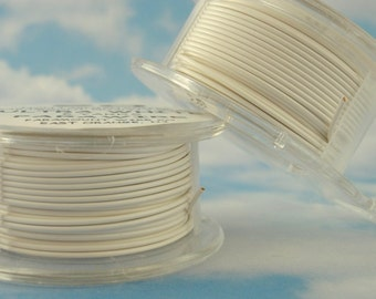 Ultra White Wire - Enameled Coated Copper - 100% Guarantee - YOU Pick the Gauge - 18, 20, 22, 24, 26 28