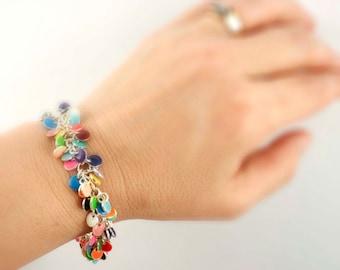 Bright Shaggy Dots Bracelet Kit - Beginners and Intermediate