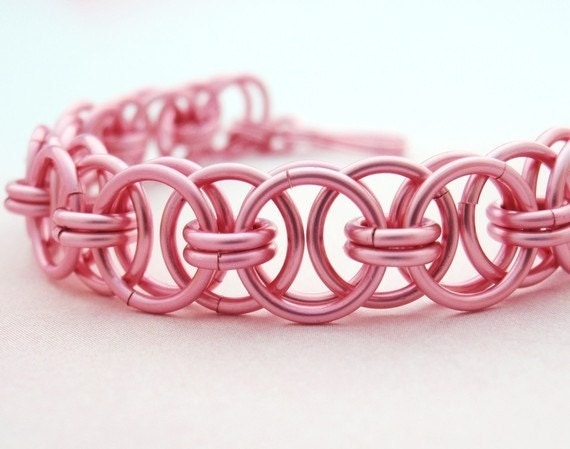 Parallel Chain or Helm Weave Chainmaille Bracelet Kit