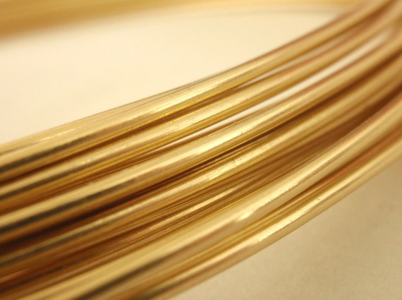 Rich Low Brass Wire - You Pick 4, 6, 8, 10, 12, 14, 16, 18, 20, 21, 22, 24, 26, 28, 30, 32 gauge - 100 Percent Guarantee