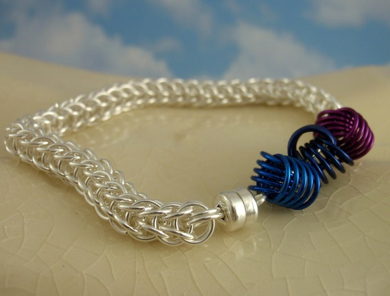 Love Knots Chainmaille Bracelet Kit - Full Persian Chainmaille