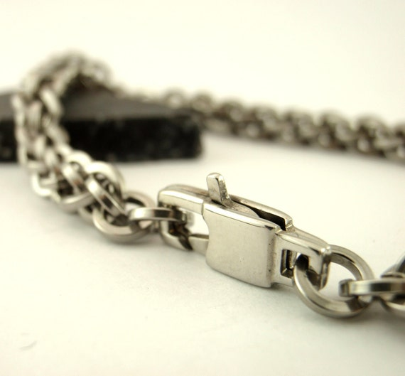 Square Stainless Steel Chainmail Bracelet or Necklace Kit - Intermediate Jens Pind Weave