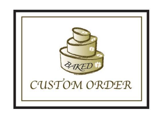 Custom order for Liz