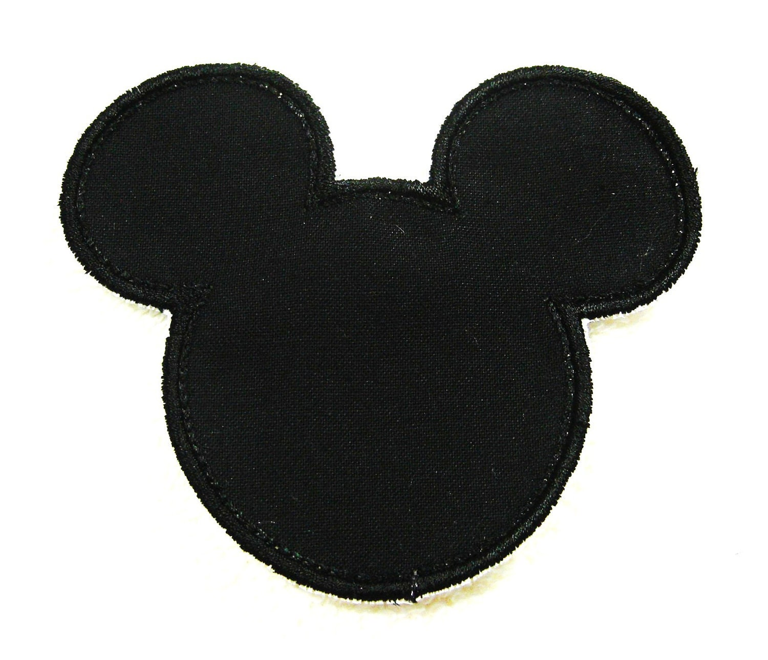 Mickey Mouse Silhouette Mickey mouse silhouette fabric