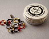ringOs Cold Winds - Snag-Free Ring Stitch Markers for Knitting