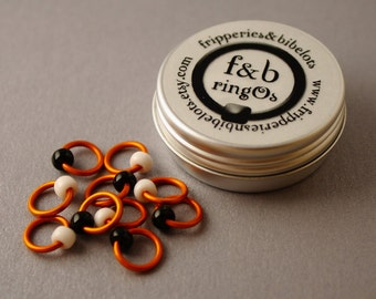 ringOs Clown Fish - Snag-Free Ring Stitch Markers for Knitting