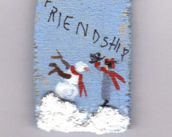 This sign is called Friendship, one of my favorite designs.
