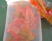 18 leaf soaps, soap leaves, autumn soap, fall soap decor, hygenic soap, single use soap, guest soap,  glycerin soap, amish harvest