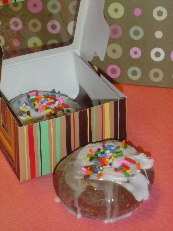3D CHOCOLATE Donut soap icing n sprinkles Handmade Glycerin Soap realistic NOVELTY fall, glycerin donut soap, Fathers Day Soap, For Him
