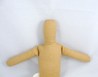 15 inch gingerbread doll blank no sew you finish