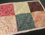 Mug Rug or Placemat in Fall Colors - FREE SHIPPING to USA