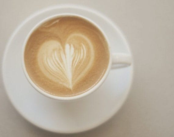Items Similar To Kitchen Photography Coffee Heart