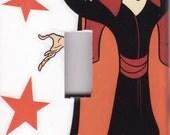 DISNEY VILLAINS Light Switch Plate Cover DIY Jafar Aladdin