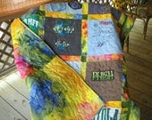 T-shirt Quilt Custom order     by Fabricartist21  50.00 deposit only