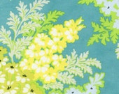 Heather Bailey Nicey Jane Picnic Bouquet in Lagoon...fabric by the yard