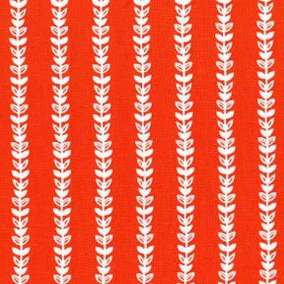 Michael Miller Honey Vine in Poppy fabric by the yard