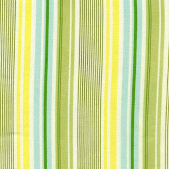Heather Bailey Nicey Jane Slim Dandy Blue Laminate fabric by the yard