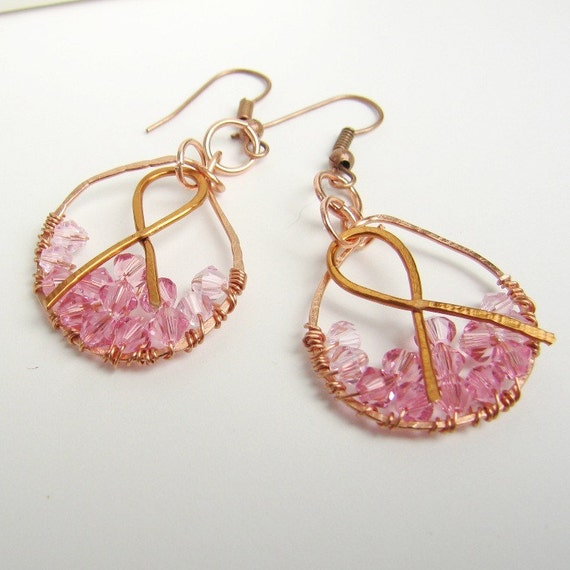 Fandango For the Cure Breast Cancer Awareness Earrings
