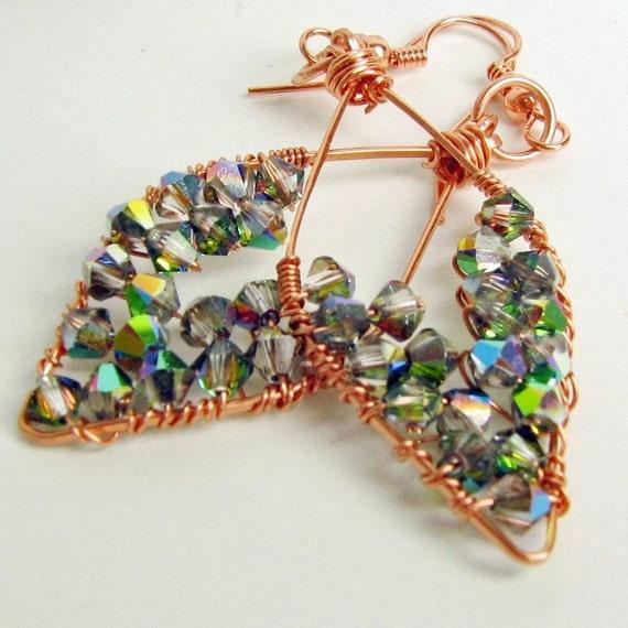 Fandango Leaf Earrings