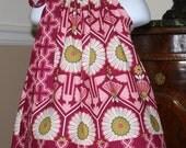 SALE Pillowcase dress WAS 19.99 NOW 15.00 Joel dewberry Cranberry meadow 3 mos thru 4T