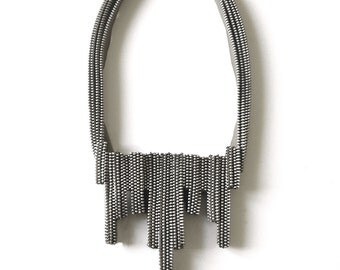The Eclair Zipper Necklace