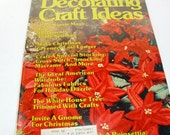 Decorating Craft Ideas magazine December 1980