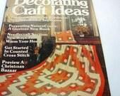Decorating Craft Ideas magazine September 1980