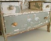 Antique Chippy Doll Dresser, Chippy and Adorable
