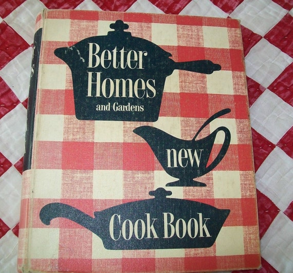 Vintage Better Homes And Gardens New Cook Book By Blueskylane