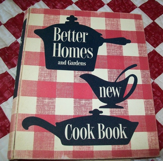 Vintage 1950s Cookbook Better Homes And Gardens New Cook