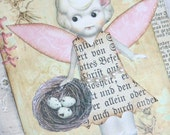 Sweet Shabby Chic Gift Tag