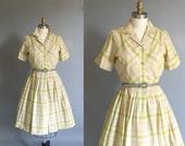1950's June Cleaver Day dress.  Lillian Russell Swing dress.