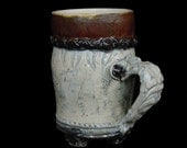 "Brown ""Leather"" Upholstery Mug"