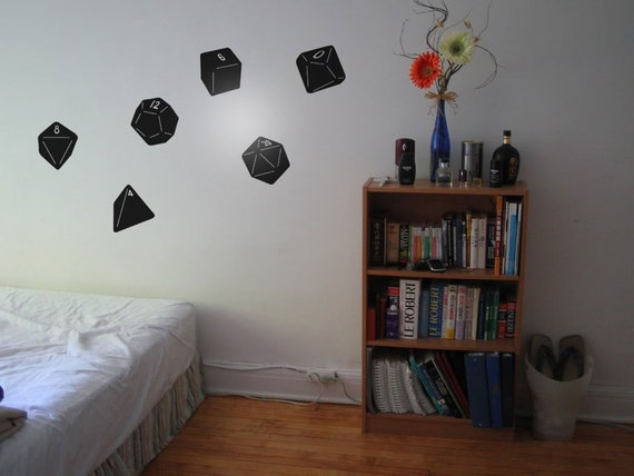 RPG Dice - Wall Decals
