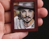Custom Portrait ,Small Painting, Acrylic Art Miniature portrait from your photo, Dollhouse Wall Decor, OOAK Painting, Special Art