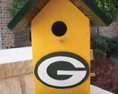 Birdhouse -  Greenbay Packers Supebowl Champions by ABCbirdhouses