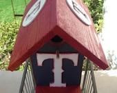Birdhouse - Texas Rangers by ABCbirdhouses
