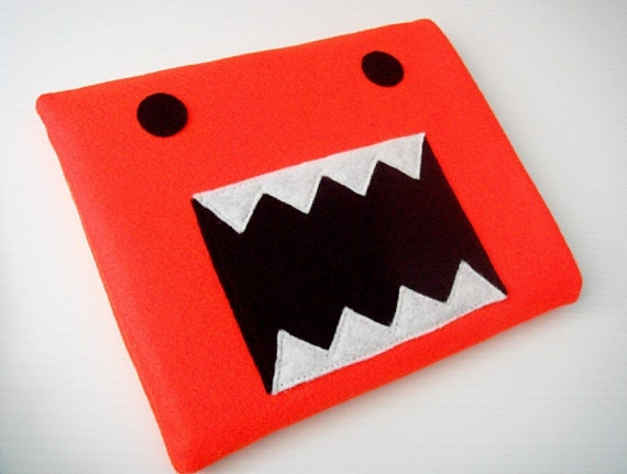 Felt iPad Sleeve / Case - Monster