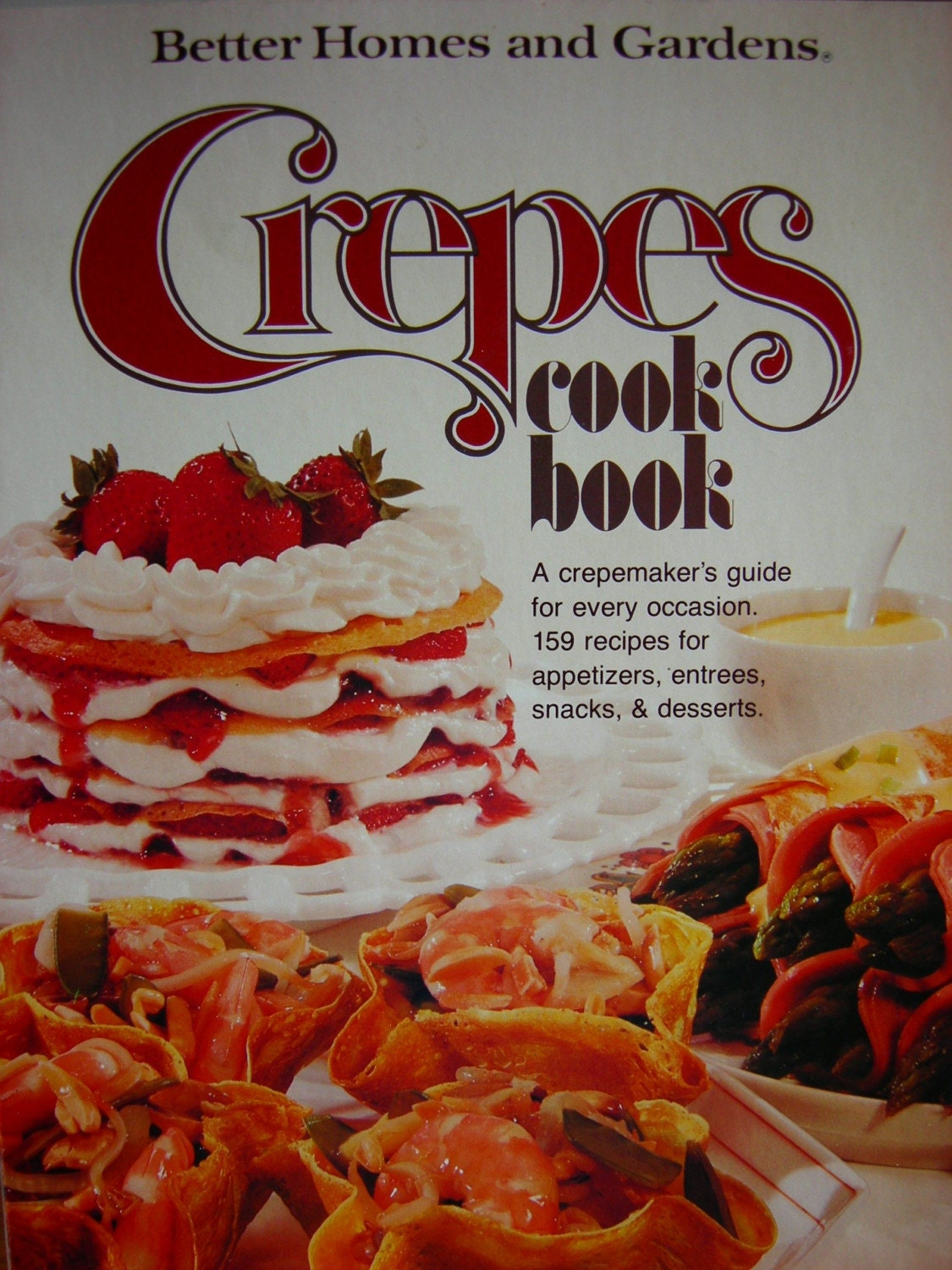 Vintage Crepes Cookbook Better Homes And Gardens