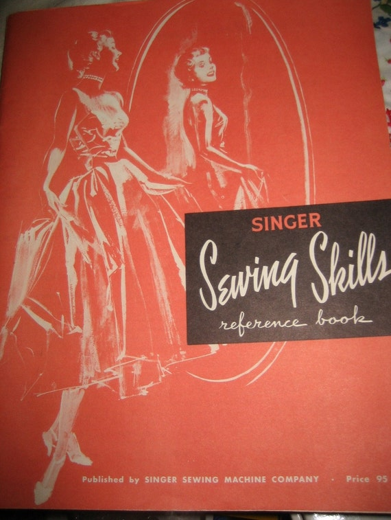 Book Cover Sewing Machine : Singer sewing book s attachments instruction