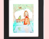 Children Decor, Fairytale Print, Princess art, But I am NOT a frog