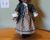 1800s style 4 piece outfit for 18 inch doll