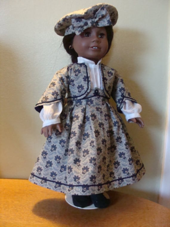 Civil War era outfit for 18 inch doll