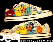Custom Shoes - Pokemon