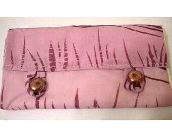 Hand silkscreened wallet