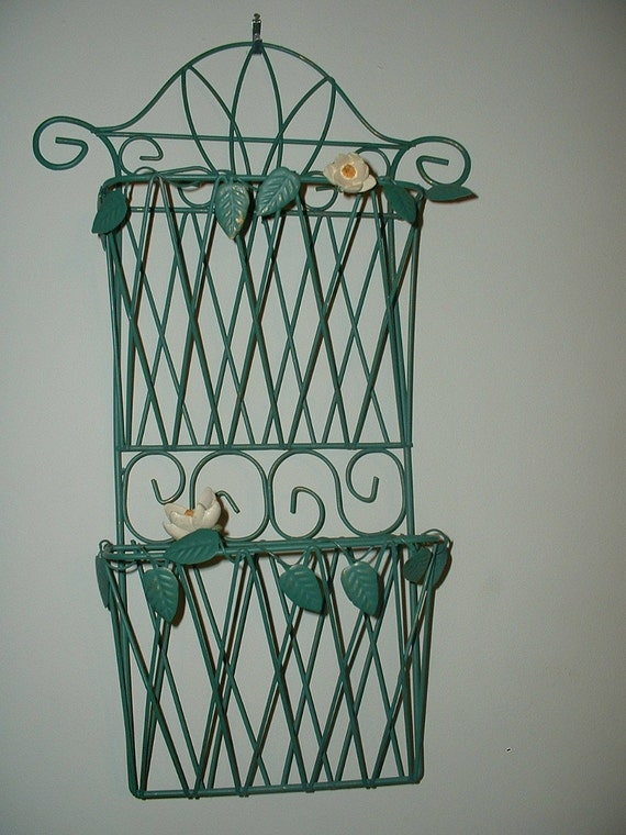 Letter Holder Wall Mount By Illusiveallure On Etsy