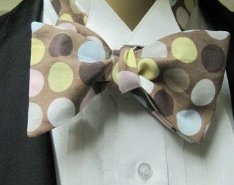 Necco Polka Dot Bow Tie