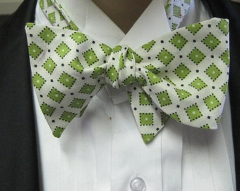 Retro Collection Green Bow Tie