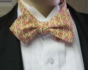 Polka Dot Explosion Classic Batwing Bow Tie