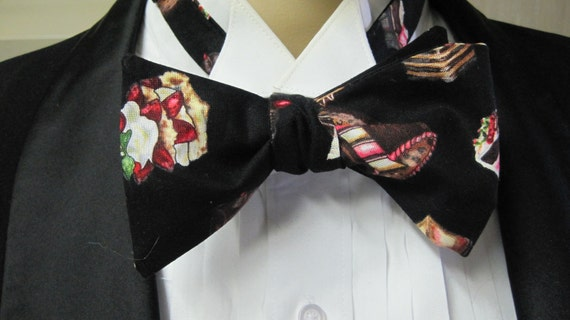 Luscious Dessert Bow Tie